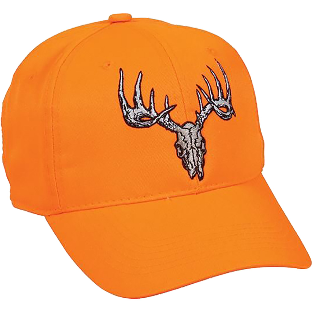 Outdoor Cap Deer Skull Cap  <br>  Blaze Orange