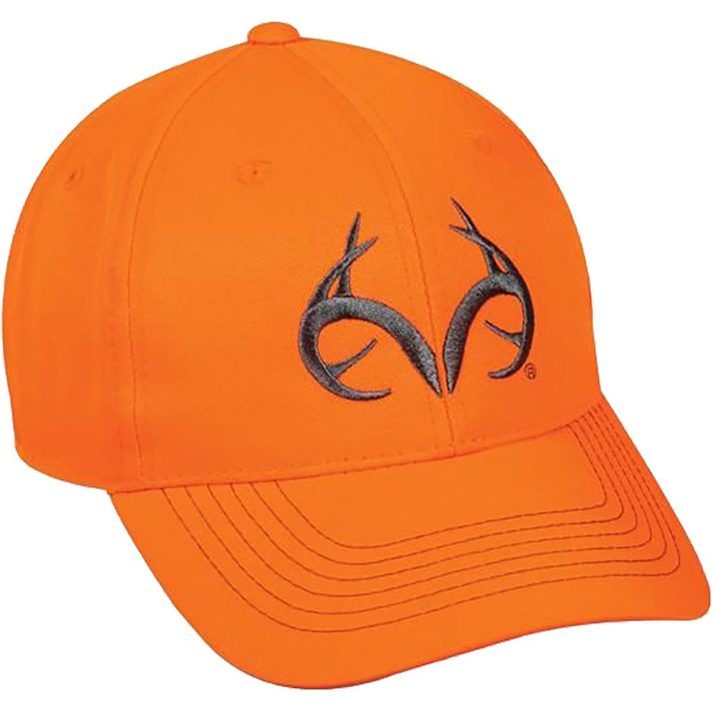Outdoor Cap Realtree Antler Cap  <br>  Blaze Orange