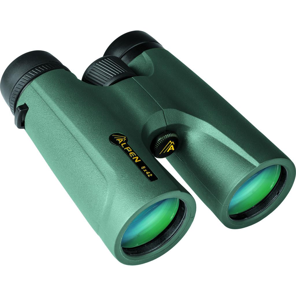 Alpen Magnaview Binoculars  <br>  Closed Bridge 8 x 42