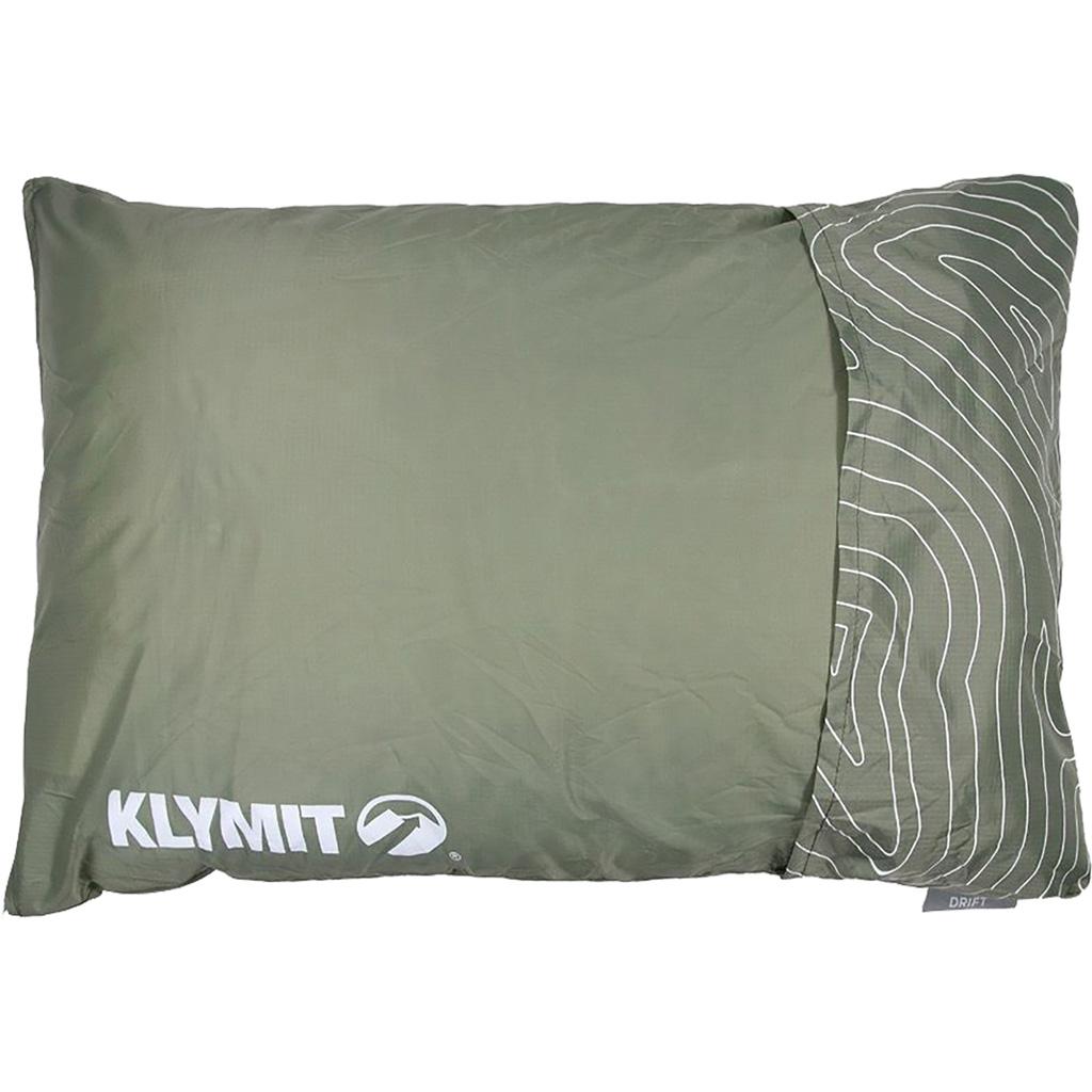 Klymit Drift Camping Pillow  <br>  Green Large