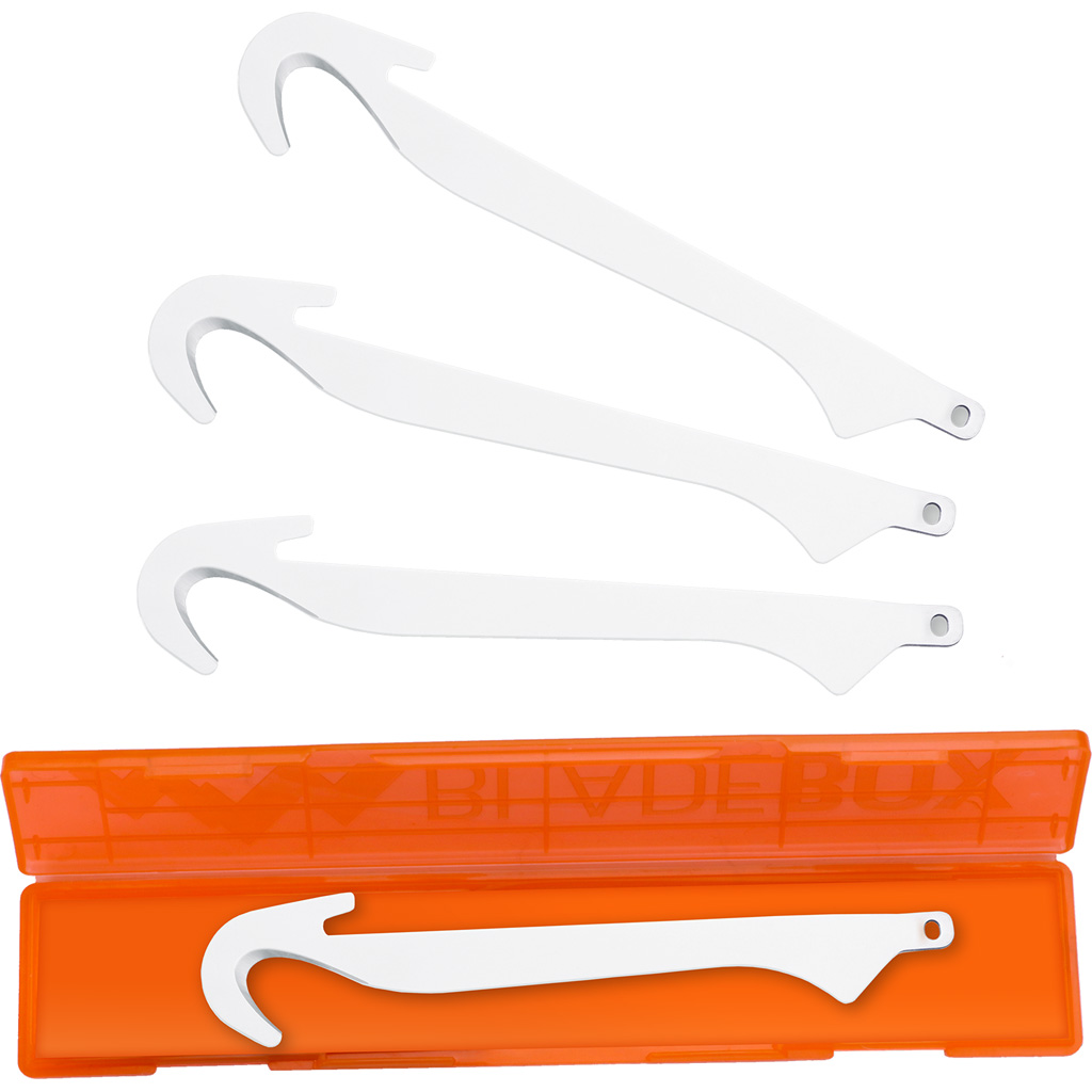 Outdoor Edge RazorSafe Gut-Hook Blade Pack  <br>  4 pk.