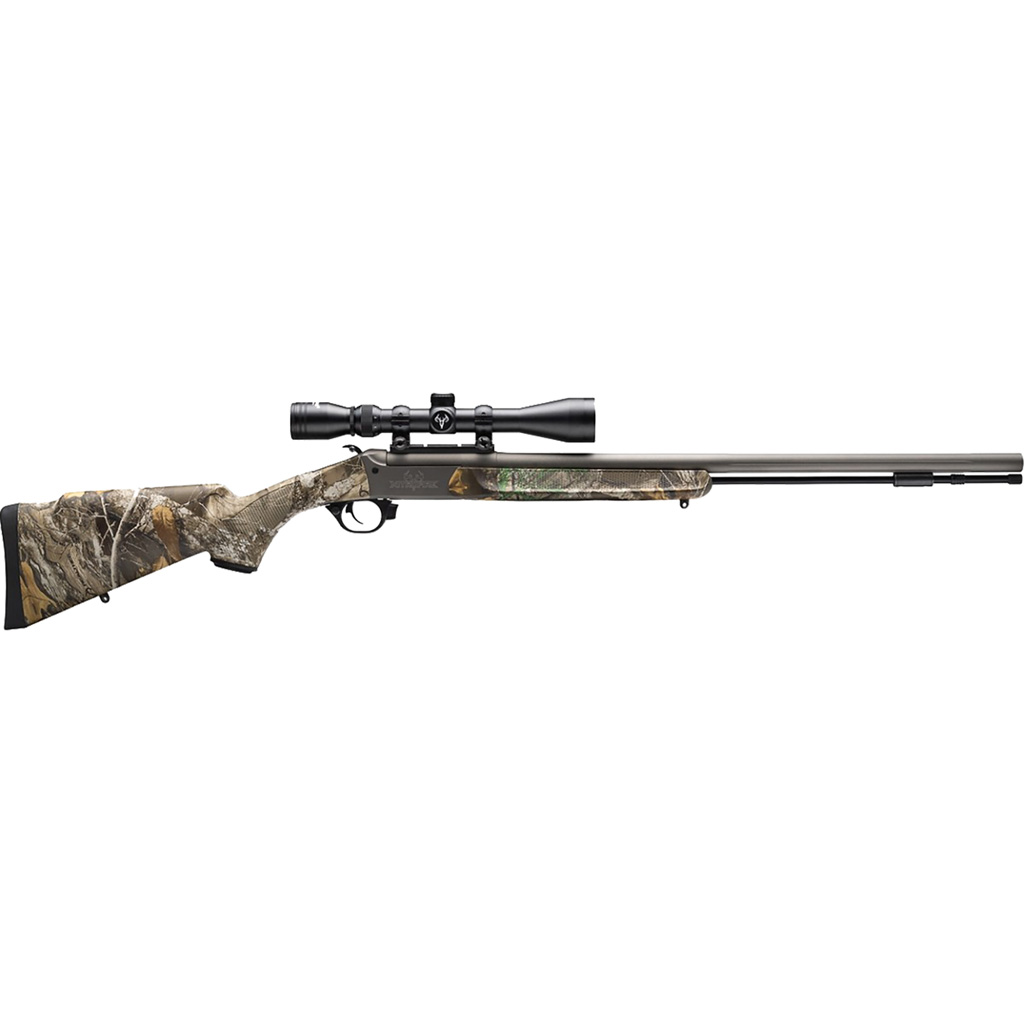 NITROFIRE 50CAL SS/CAMO PKG - 3-9X40 DUPLEX SCOPE