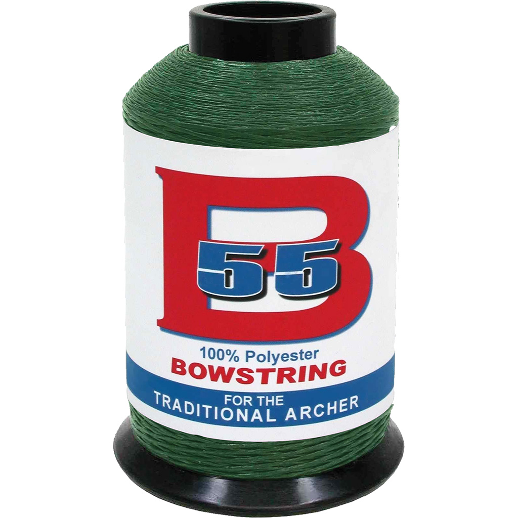 BCY B55 Bowstring Material  <br>  OD Green 1/4 lb.
