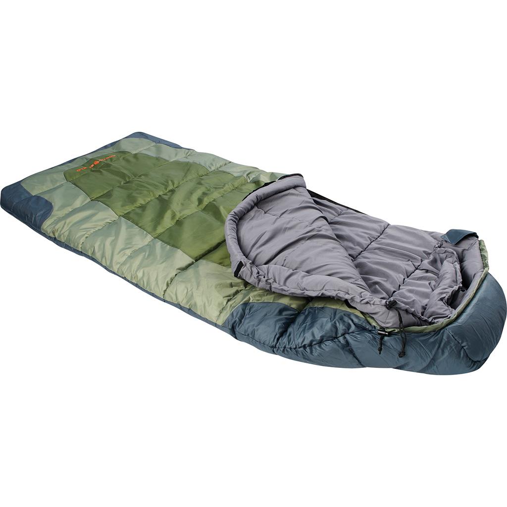 Arctic Shield Echo Mummy Sleeping Bag  <br>  Winter Moss  Large
