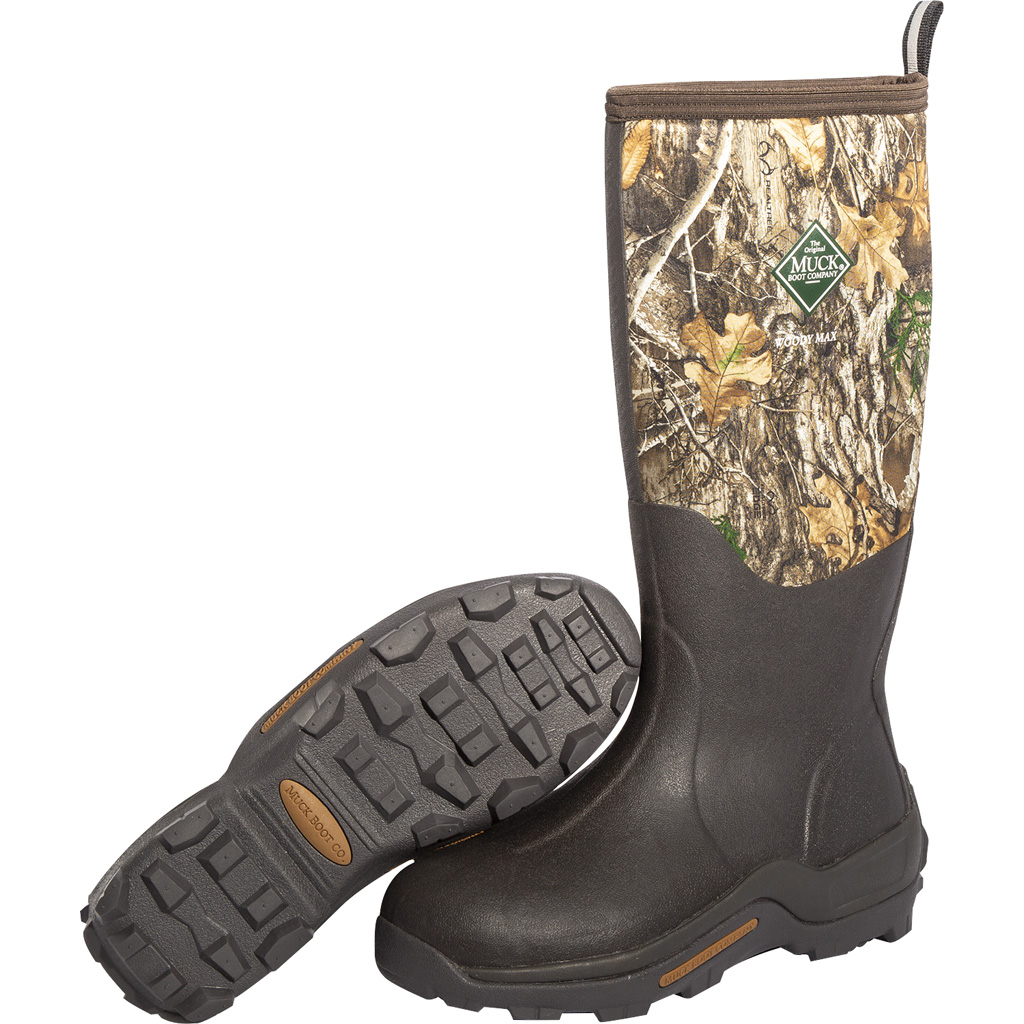 Muck Woody Max Boot  <br>  Realtree Edge 8