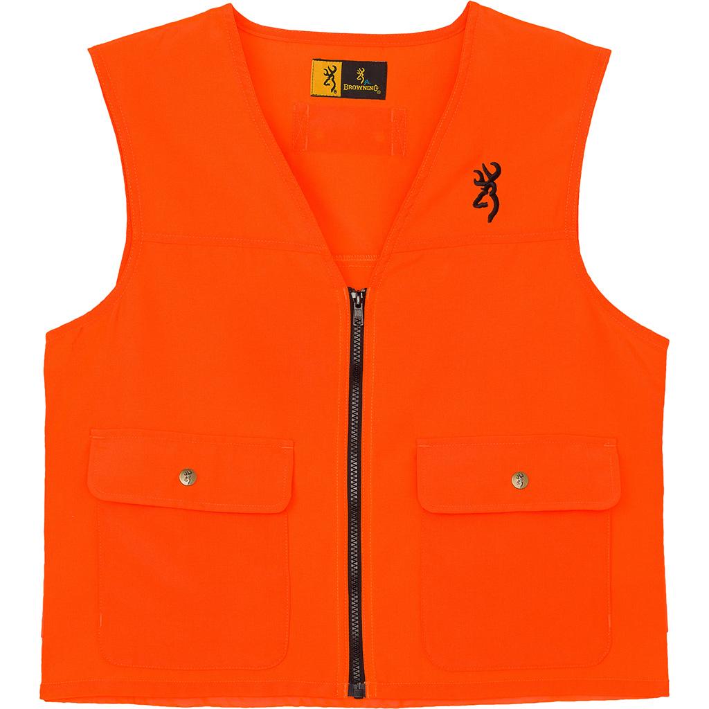 Browning Safety Vest  <br>  Blaze Orange 3X-Large