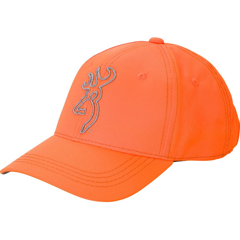 Browning High Vis Hat  <br>  Blaze Orange