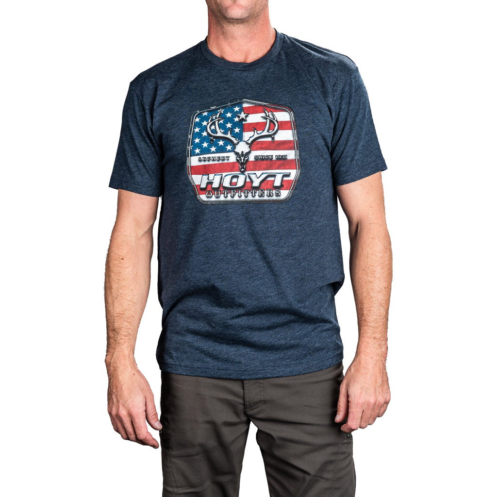 Hoyt USA Outfitter Tee  <br>  2 X-Large