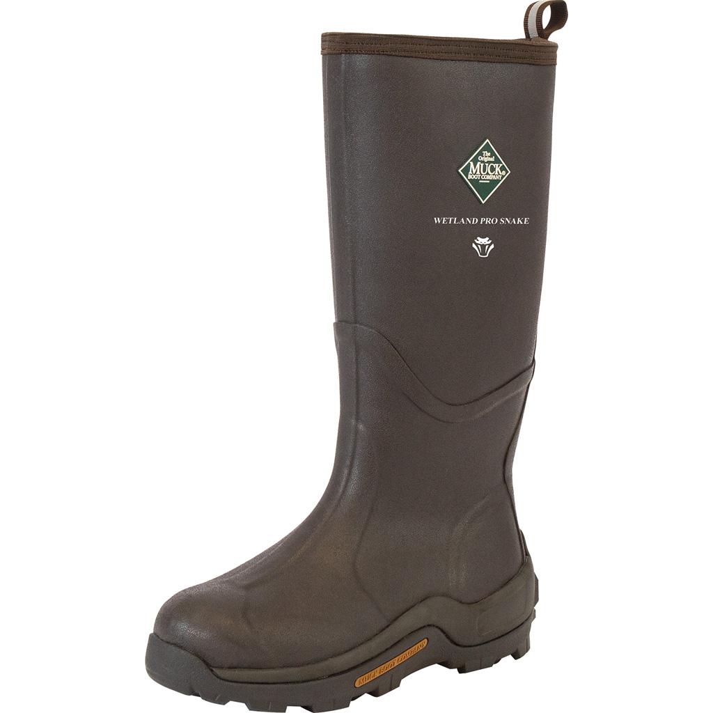 Muck Wetland Pro Snake Boot  <br>  Brown 9