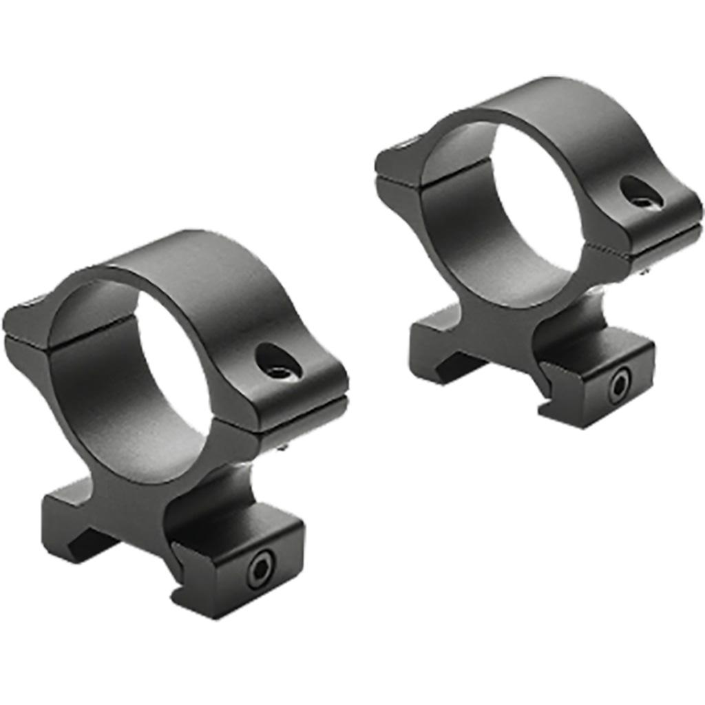 Leupold Rifleman Scope Rings  <br>  30mm Detachable Rings High Matte Black
