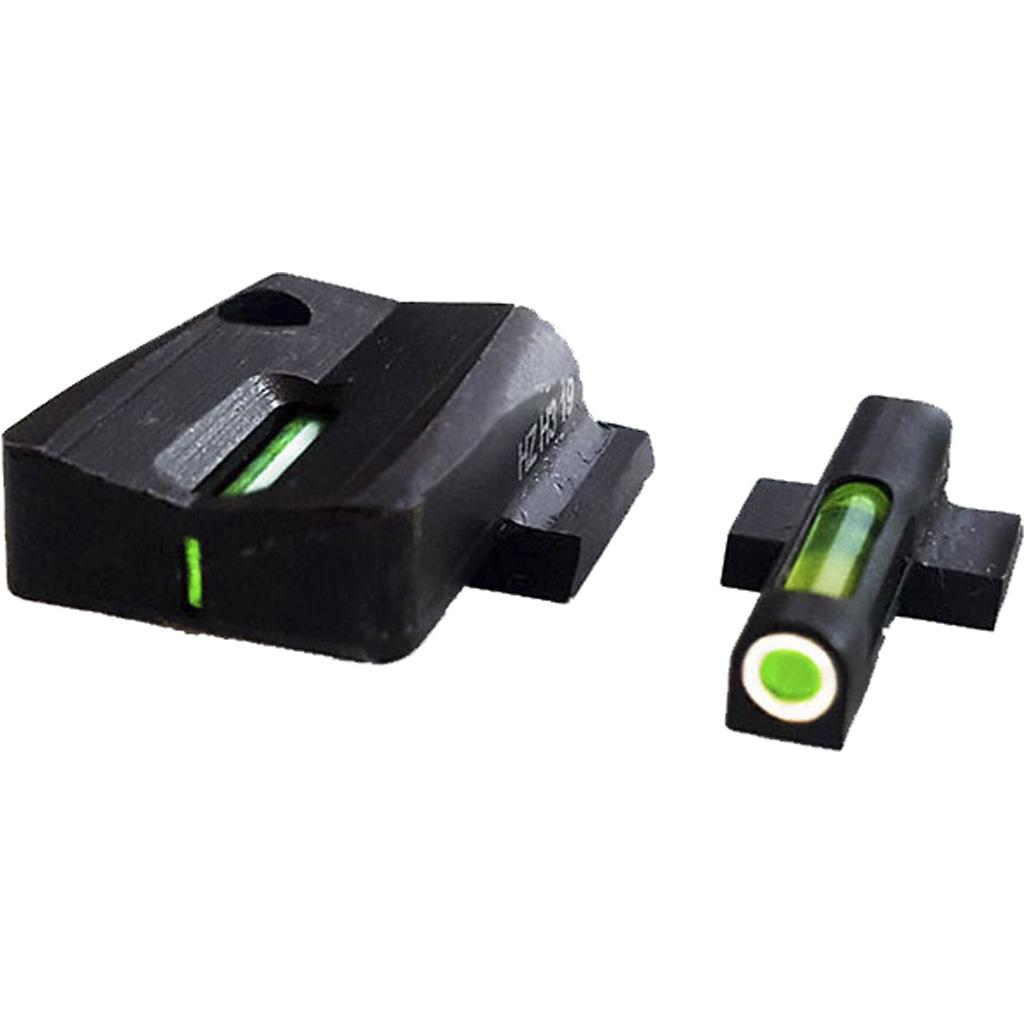 HIVIZ LiteWave H3 Sight Set Shield 9mm 40 S and W .357 Sig