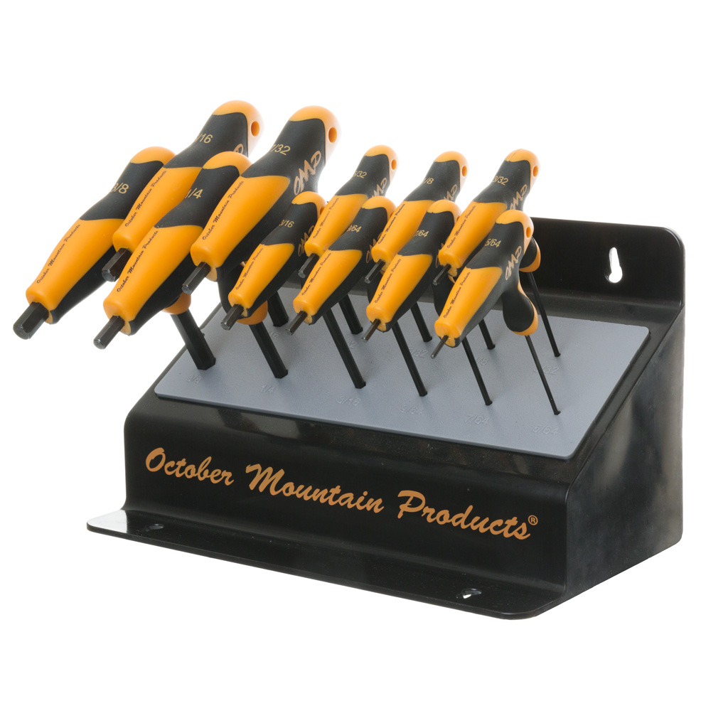 October Mountain Pro Shop Hex Wrench Set  <br>  Bench