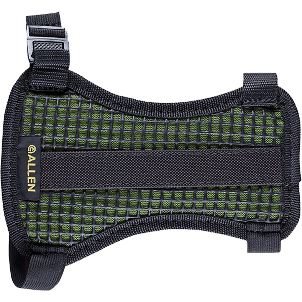 Pulse Mesh Armguard  <br>  Green