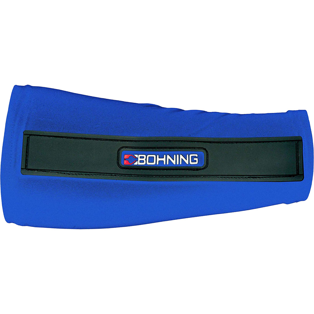 Bohning Slip-On Armguard  <br>  Blue Small