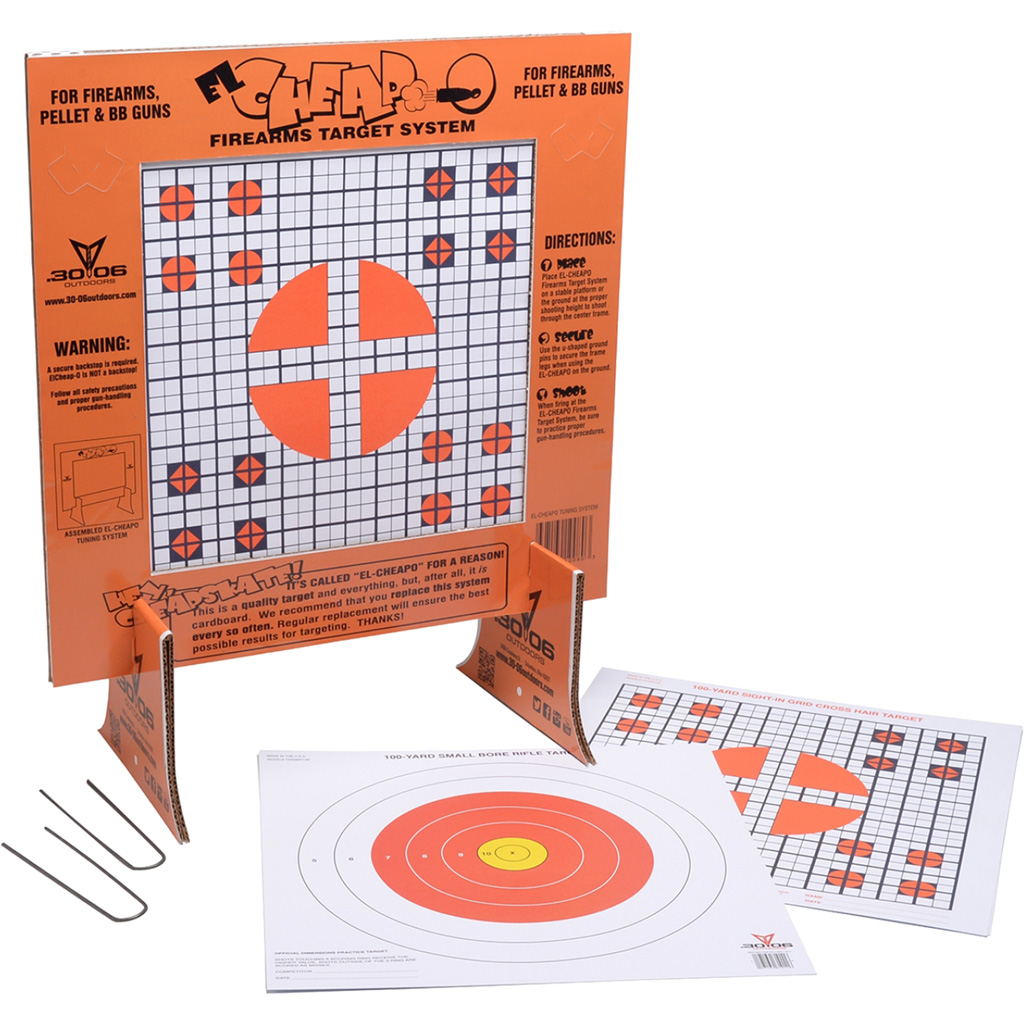 3006 Cheap-O Gun Target  <br>
