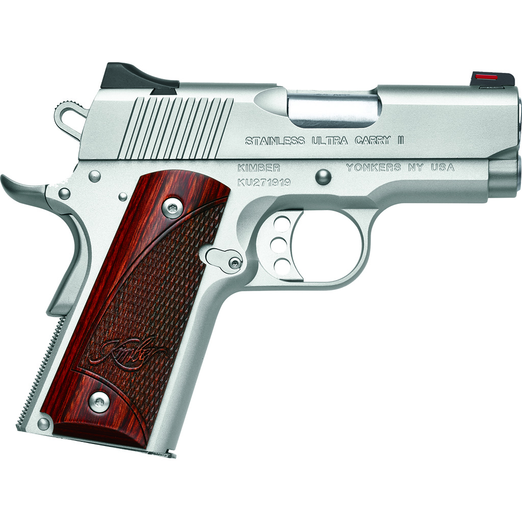 Kimber Ultra Carry II Pistol  <br>  .45 ACP 6.8 in. Stainless 8+1 rd.