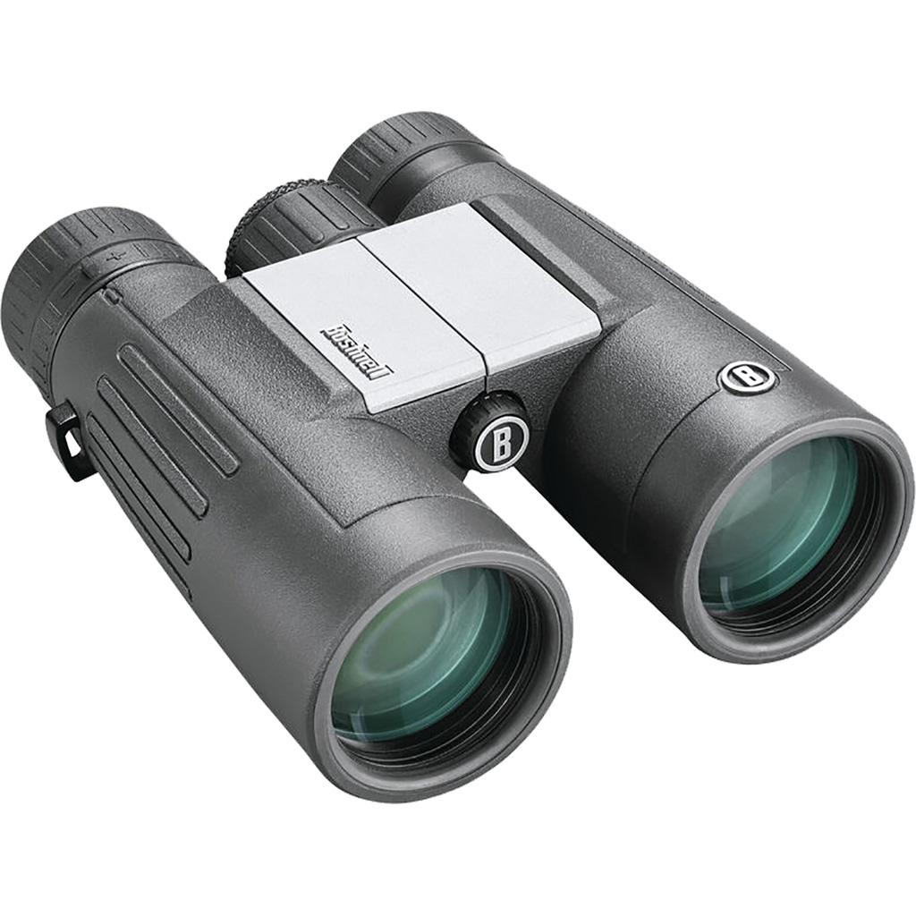Bushnell Powerview 2 Binoculars  <br>  Black 10x42