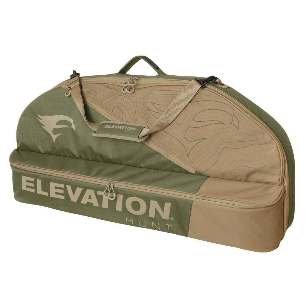 Elevation HUNT V1 TOPO Bow Case  <br>  Olive/Tan 40 in.