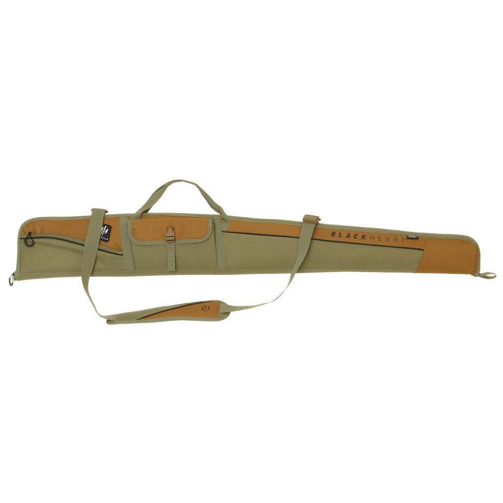 BlackHeart Vital Shotgun Case  <br>  w/ Inhib-X Olive/Brown 54 in.