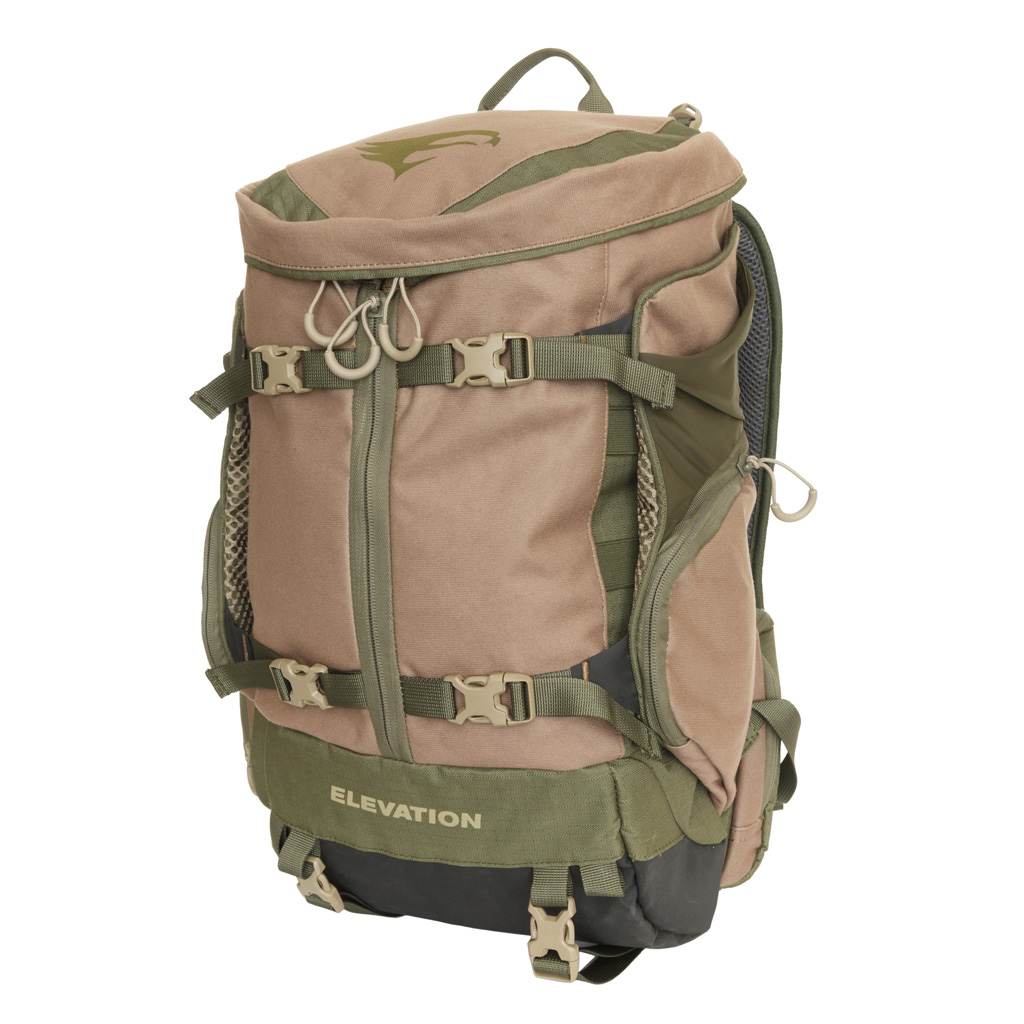 Elevation HUNT Canopy Tri-Zip 1200 Pack  <br>  Olive/Tan
