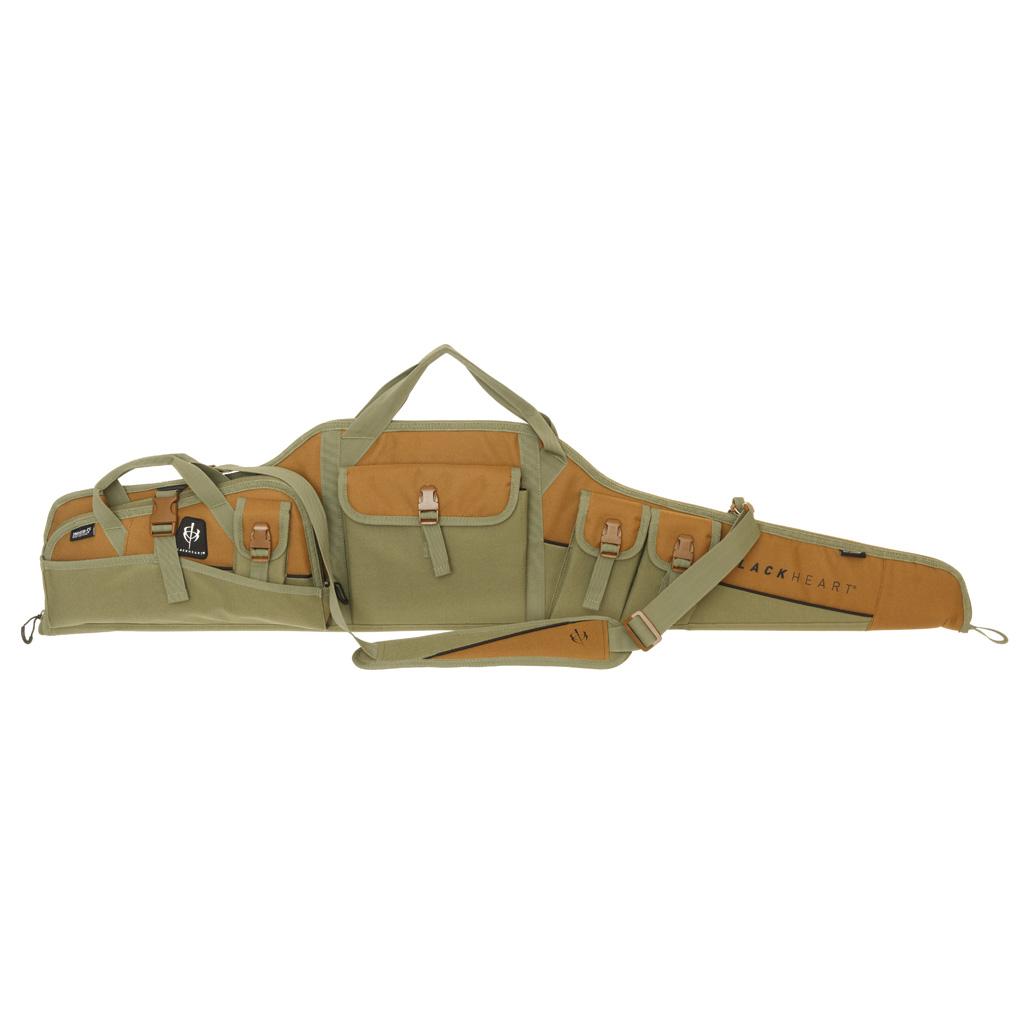 BlackHeart Vital Case Combo  <br>  48in. Scoped Rifle Case w/ Vital 14in. Pistol Rug