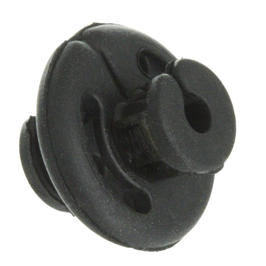 October Mountain Quick Crimp Kisser Button   <br>  Black 1pk.