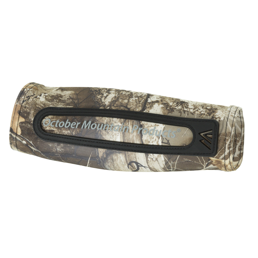 October Mountain Compression Arm Guard   <br>  Realtree Edge Standard Fit