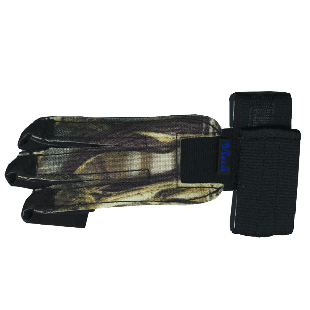 Vista Comfort Shooting Glove  <br>  Camouflage Large RH/LH