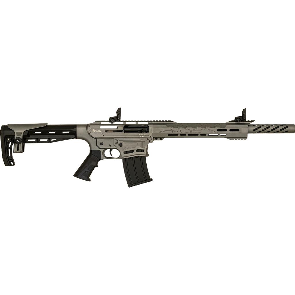 Citadel BOSS-25 Shotgun  <br>  12 ga. 20 in. Synthetic Grey Cerakote 3 in.