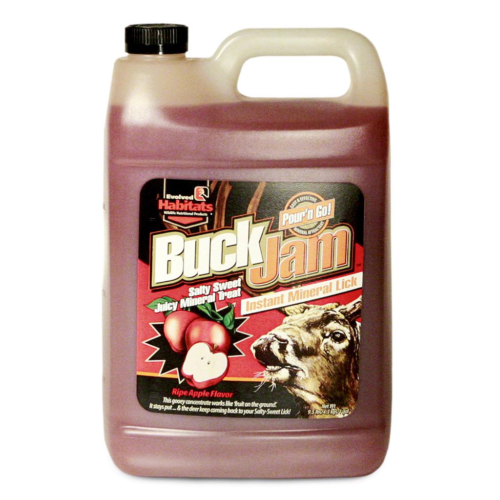 Evolved Buck Jam Liquid Attractant  <br>  Ripe Apple 1 gal.