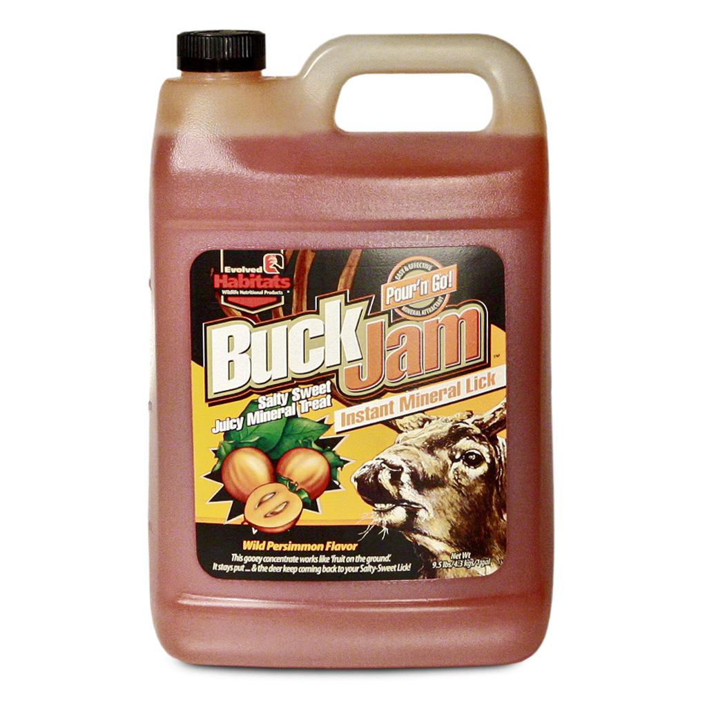 Evolved Buck Jam Liquid Attractant  <br>  Wild Persimmon 1 gal.