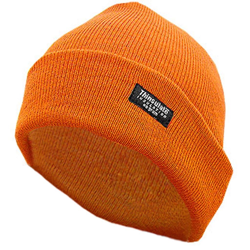 Hot Shot Insulated Cuff Cap  <br>  2-Ply Blaze Orange