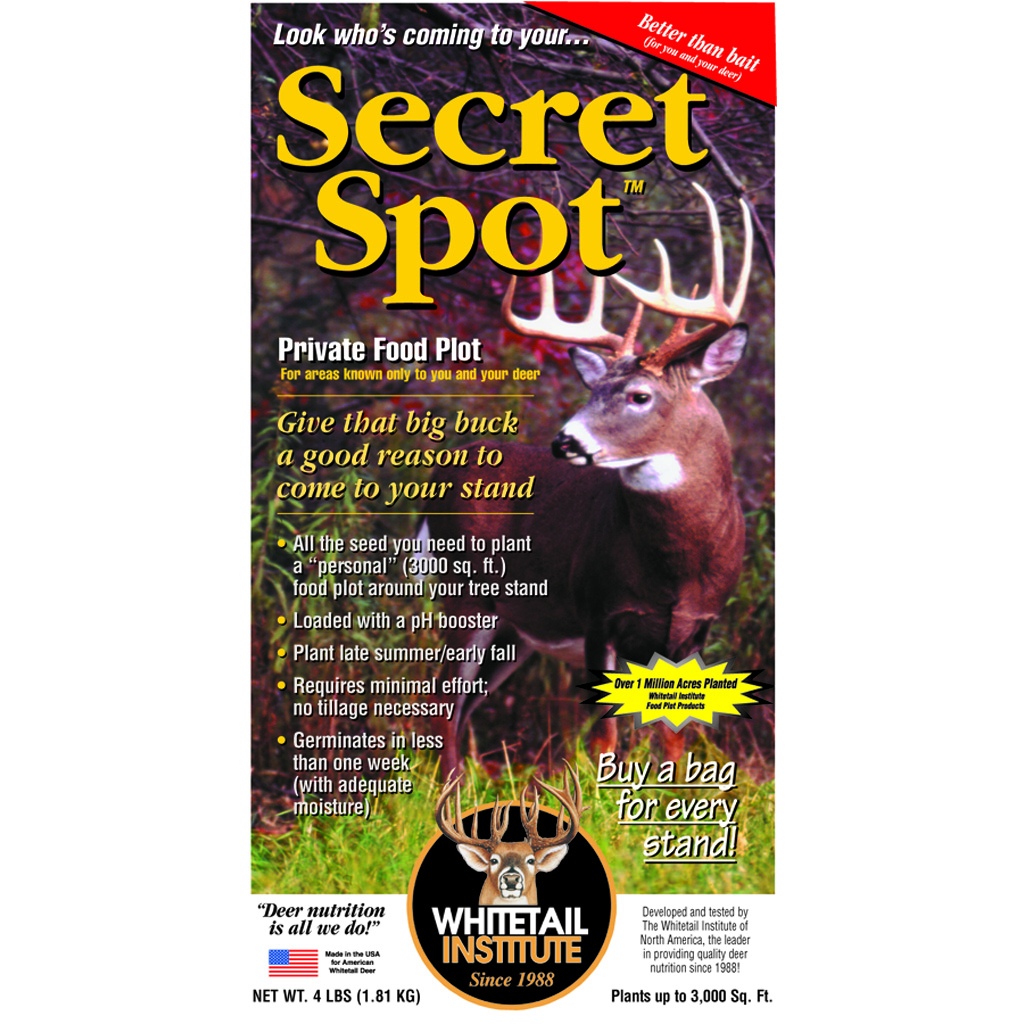 Whitetail Institute Imperial Seed  <br>  Secret Spot 4 lb.