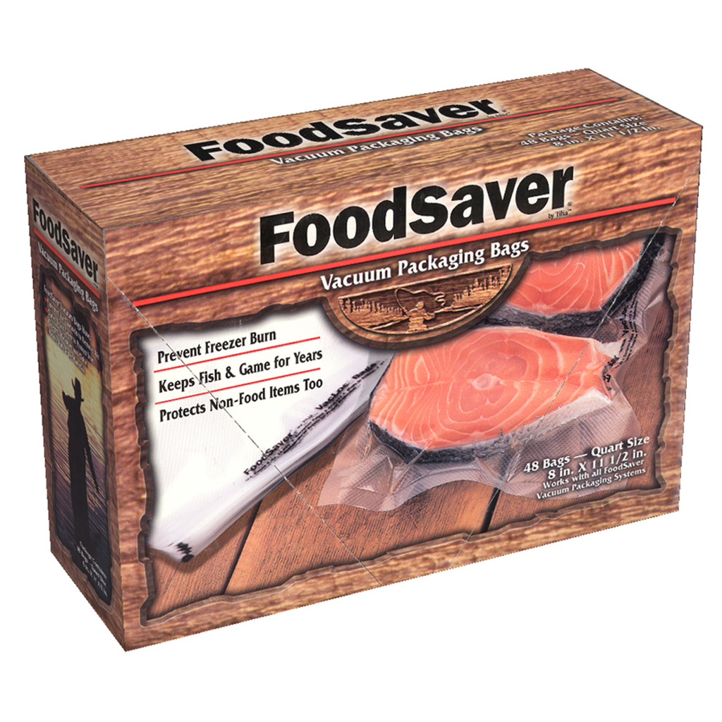 FoodSaver GameSaver Bags  <br>  Quart 44 pk.
