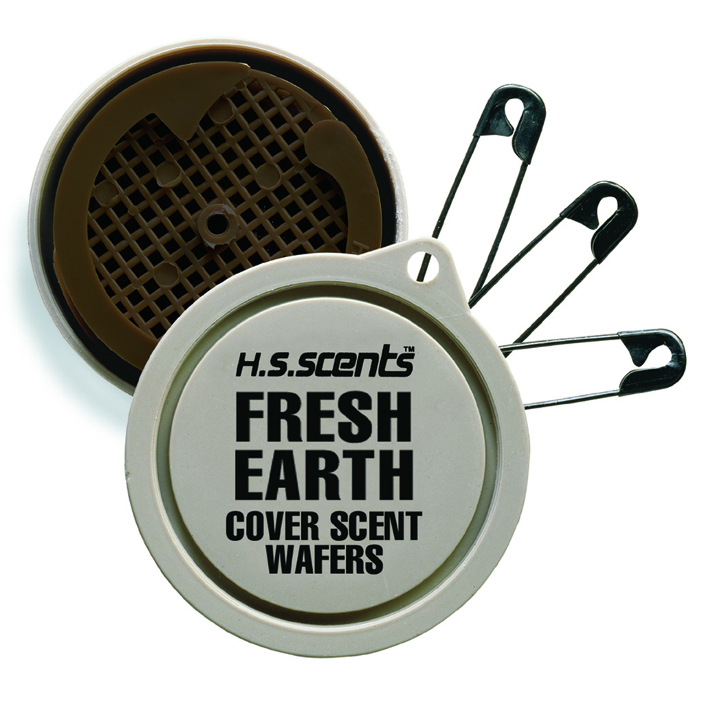 Hunters Specialties Scent Wafer  <br>  Fresh Earth 9 pk.