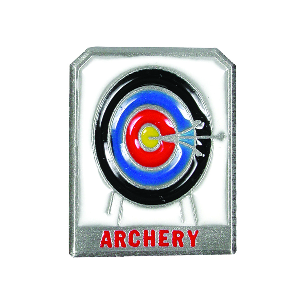 Empire Pewter Pin  <br>  Archery Target