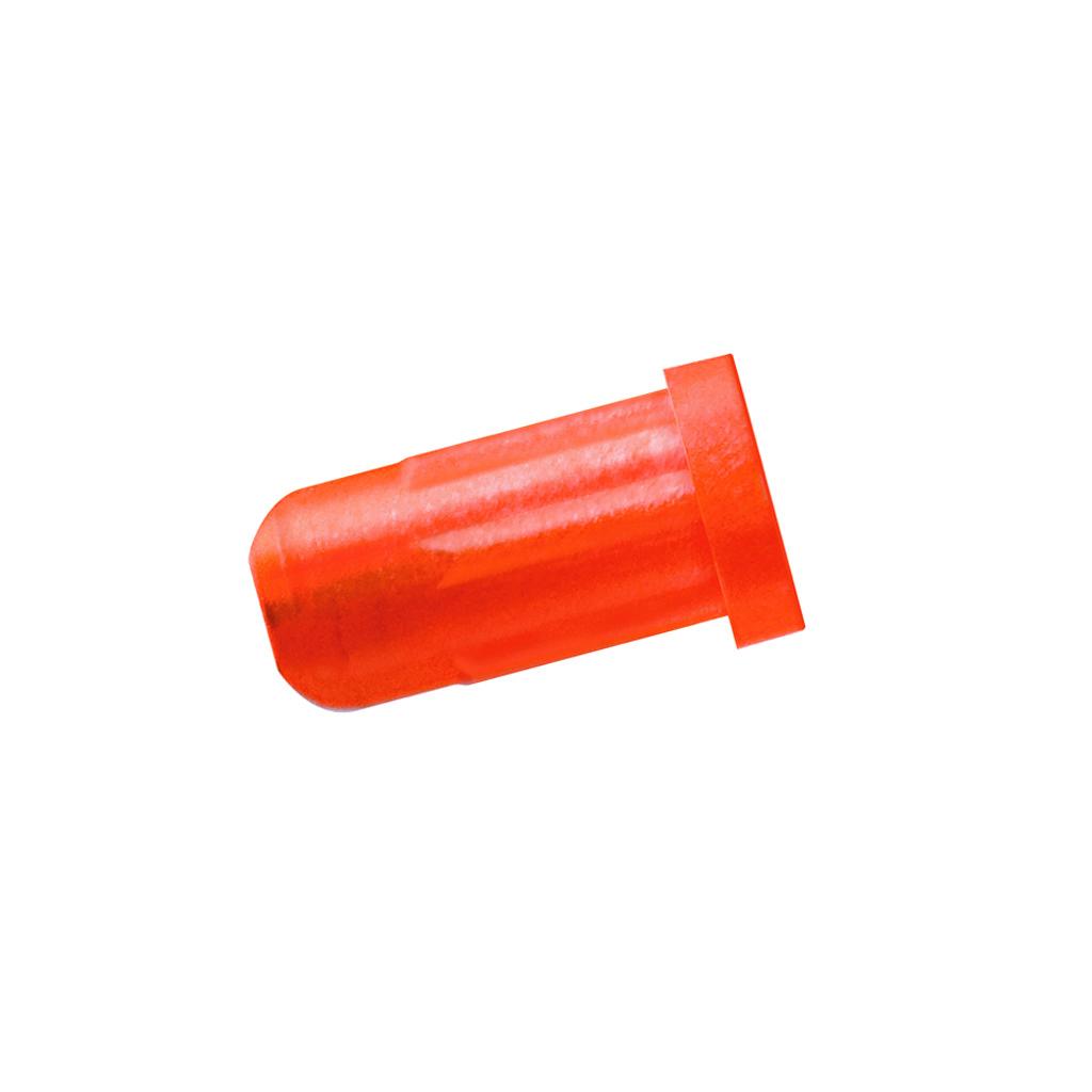 Easton Flat Nock  <br>  Carbon Bolt Orange 12 pk.