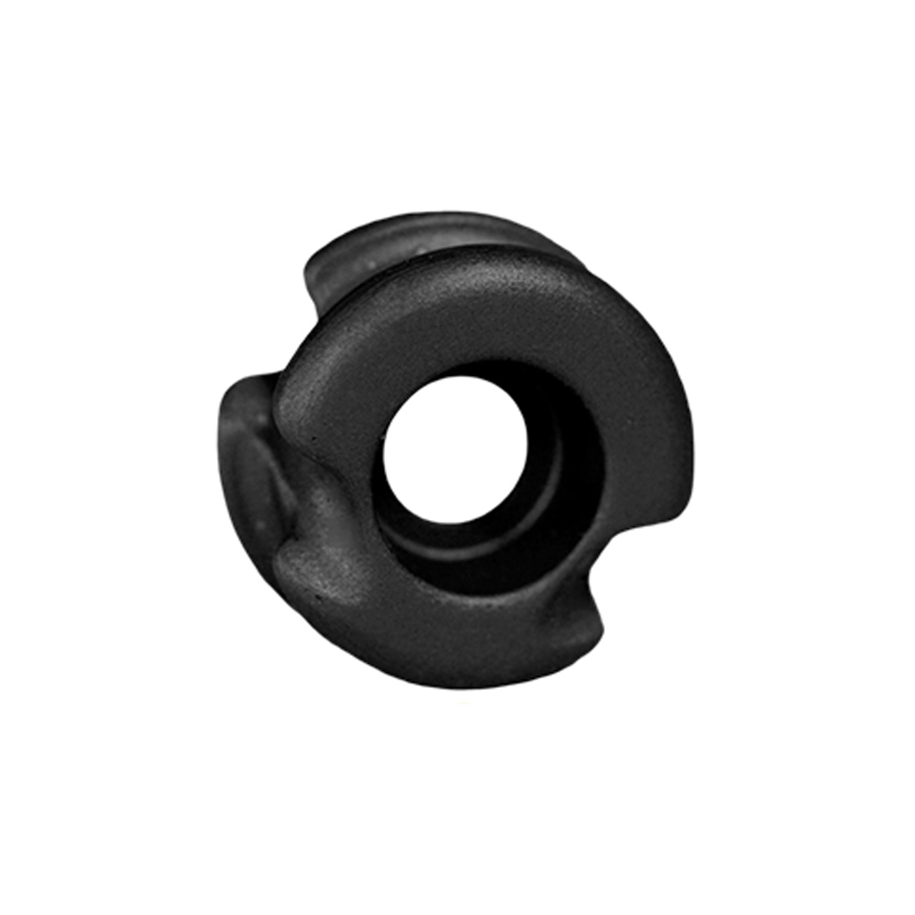RAD Super Deuce 38 Peep Sight  <br>  Black 3/16 in.