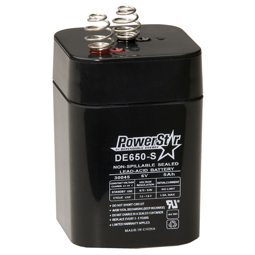 American Hunter 6V Battery  <br>  Rechargeable