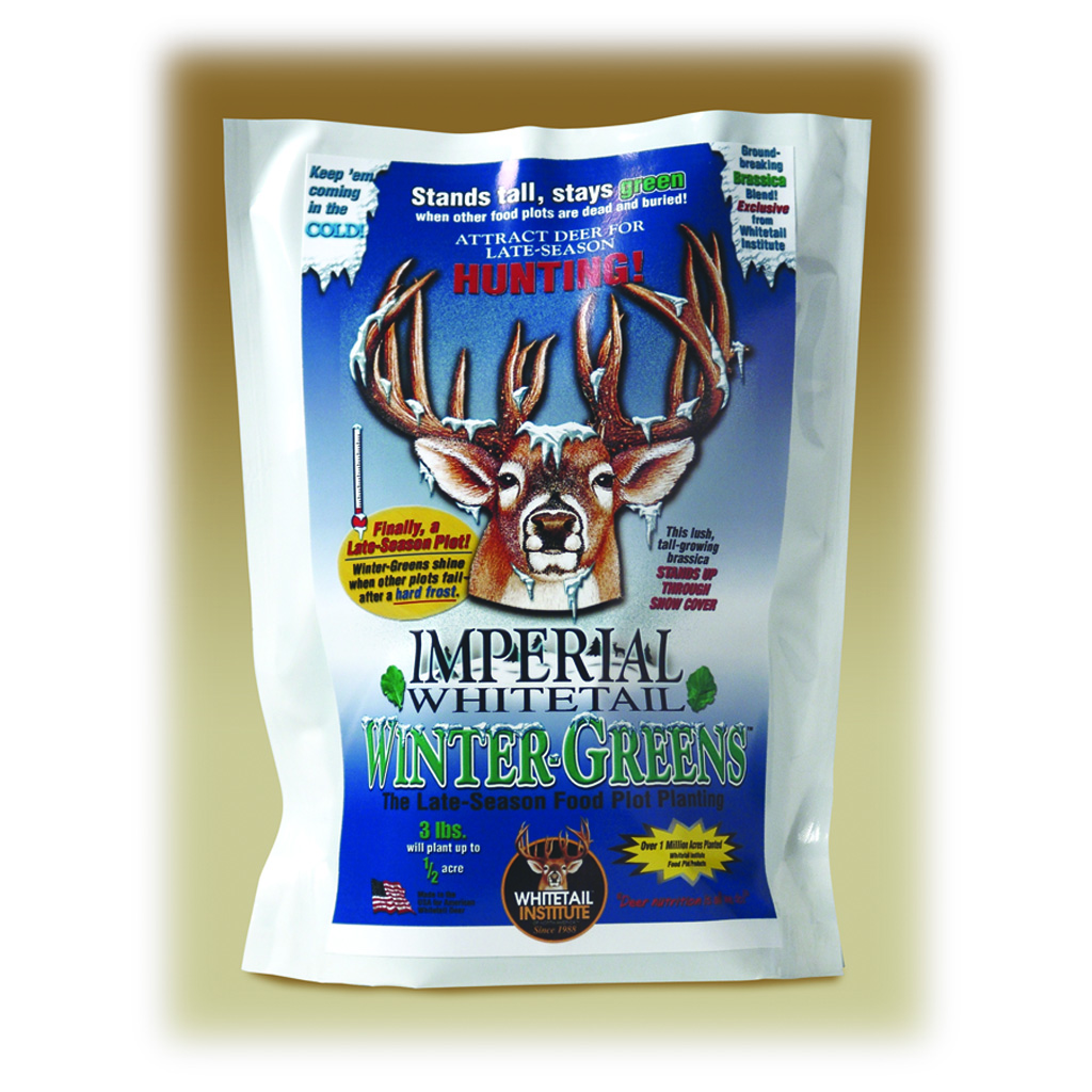 Whitetail Institute Wintergreens Seed  <br>  3 lb.