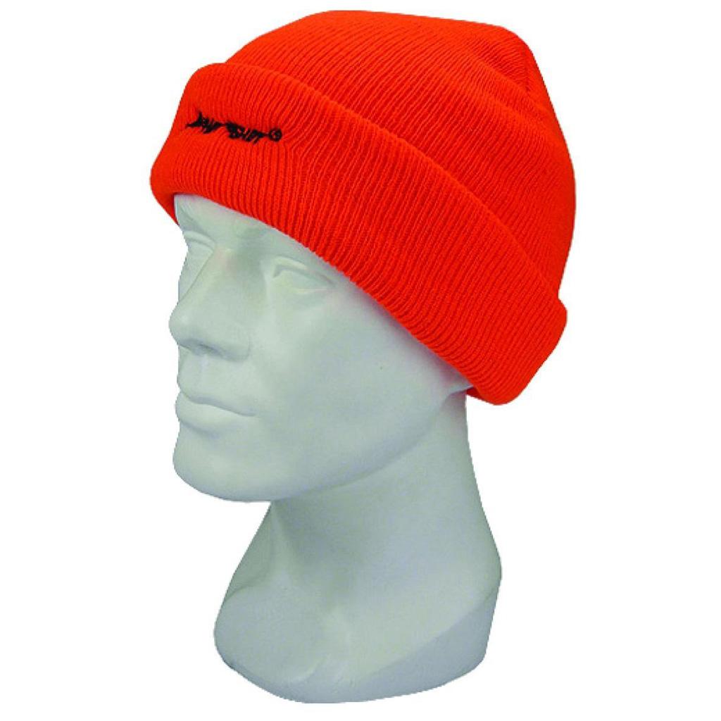 Hot Shot Insulated Cuff Cap  <br>  4-Ply Blaze Orange