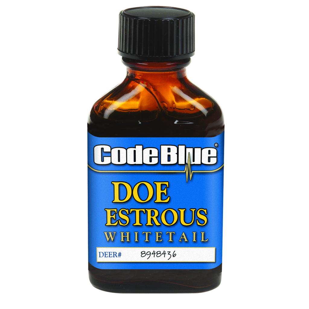 Code Blue Doe Estrous  <br>  1 oz.