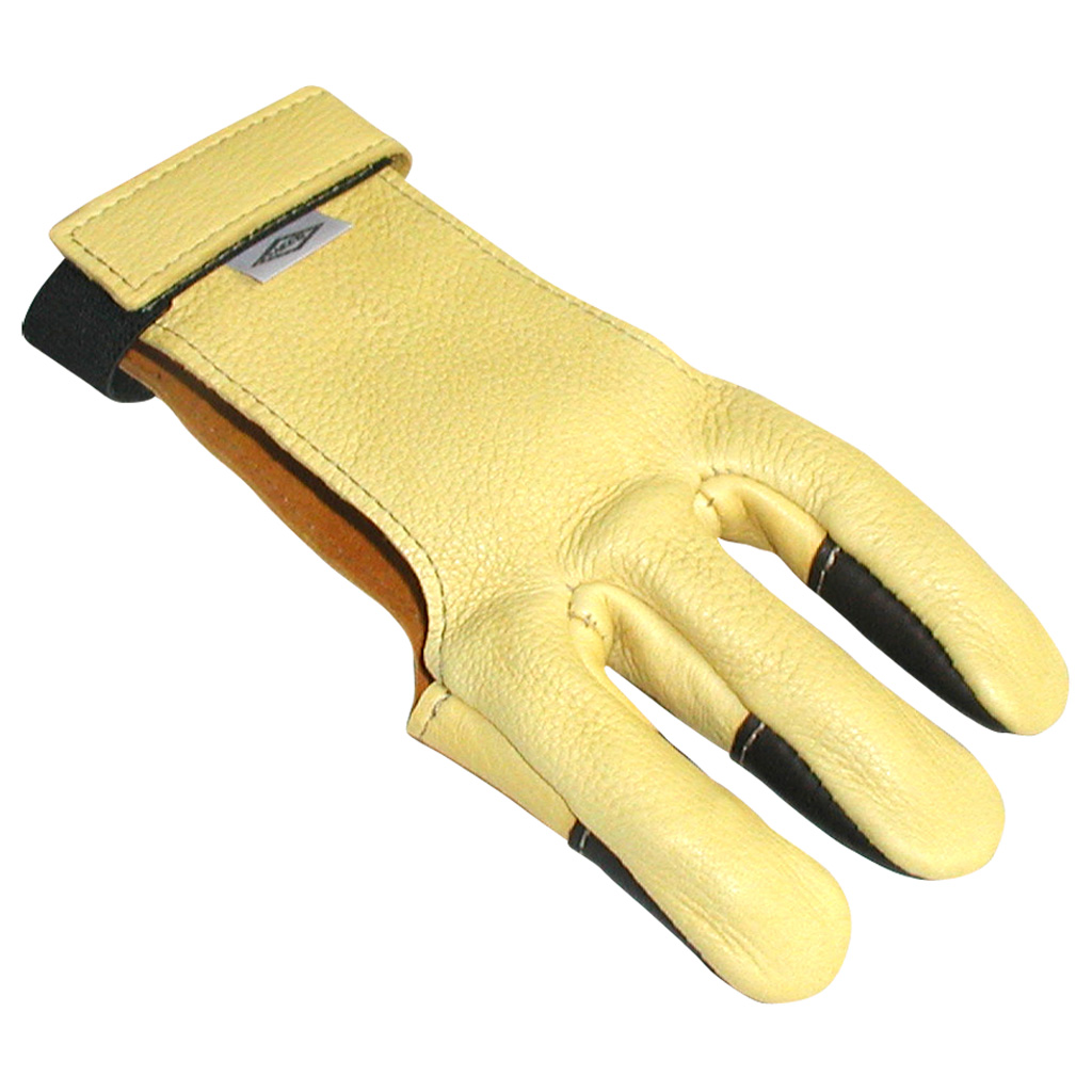 Neet DG-1L Shooting Glove  <br>  Leather Tips Large