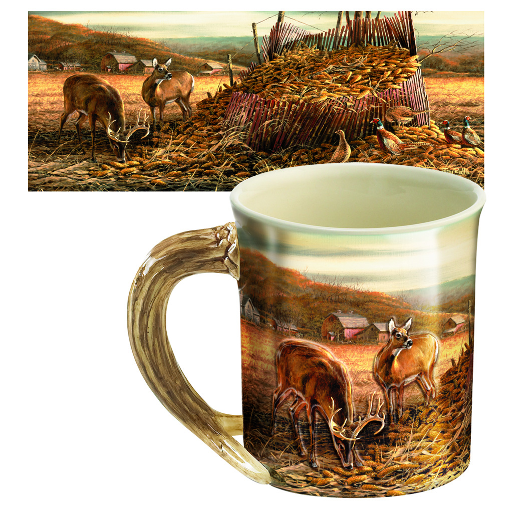 Wild Wings Sculpted Mug  <br>  Sharing the Bounty