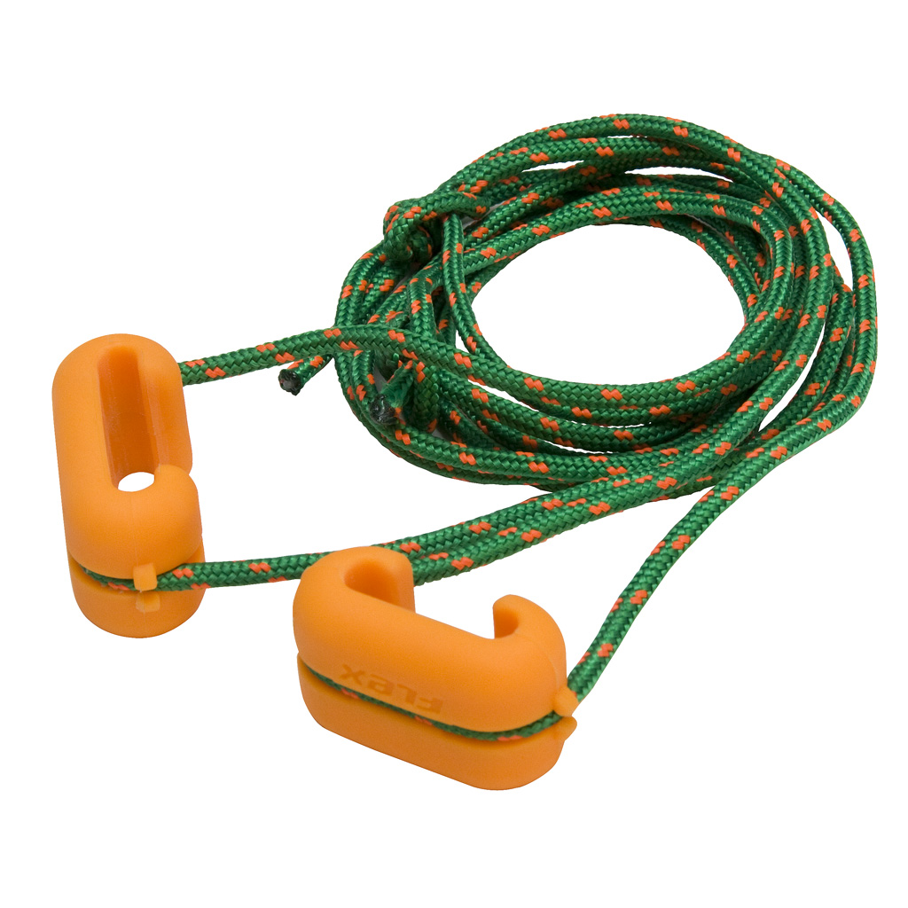 October Mountain Flex Pro  <br>  Longbow Stringer Orange/Green