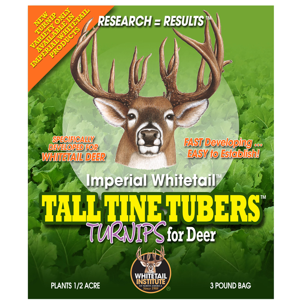 Whitetail Institute Tall Tine Tubers  <br>  .5 Acre 3 lb.