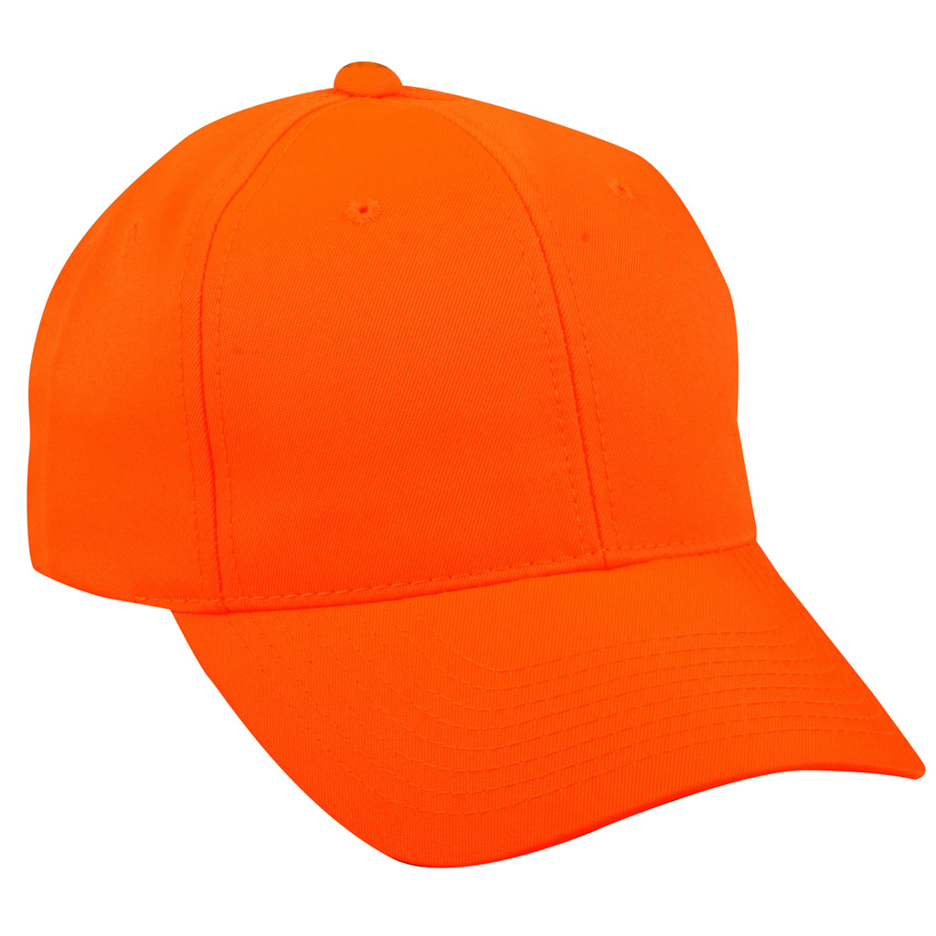 Outdoor Cap Hi-Vis Hat  <br>  Blaze Orange One Size