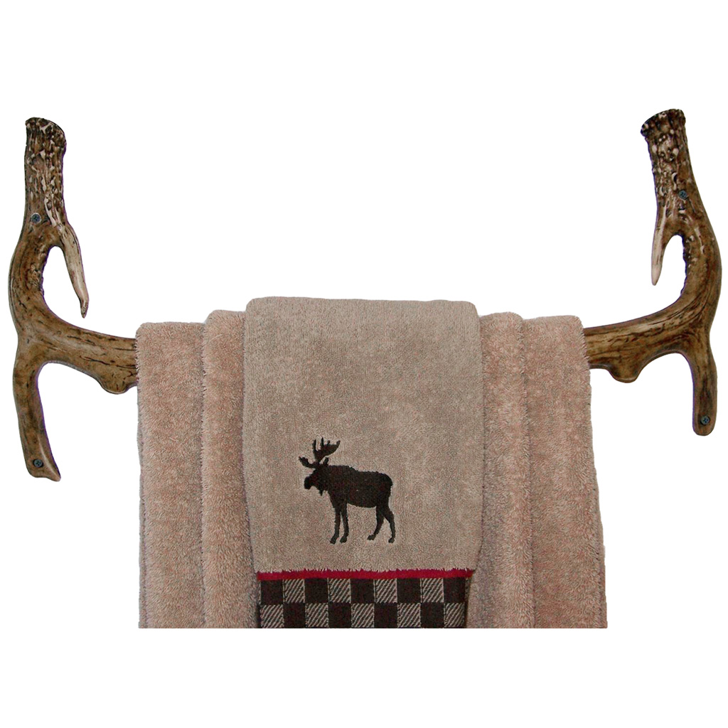 Mountain Mikes Bath Towel  <br>  Rack