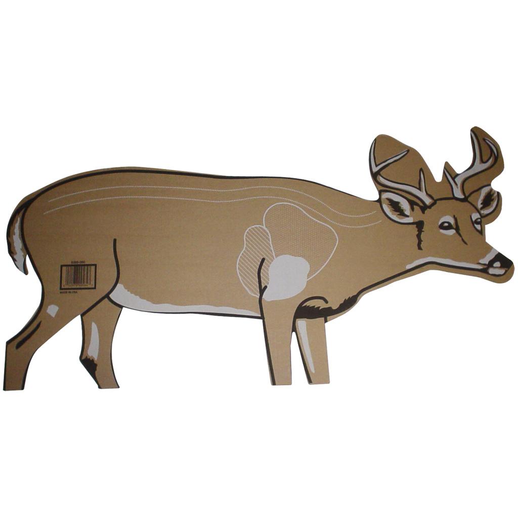 Weaknecht Archery Cardboard Deer Target  <br>  25 pk.