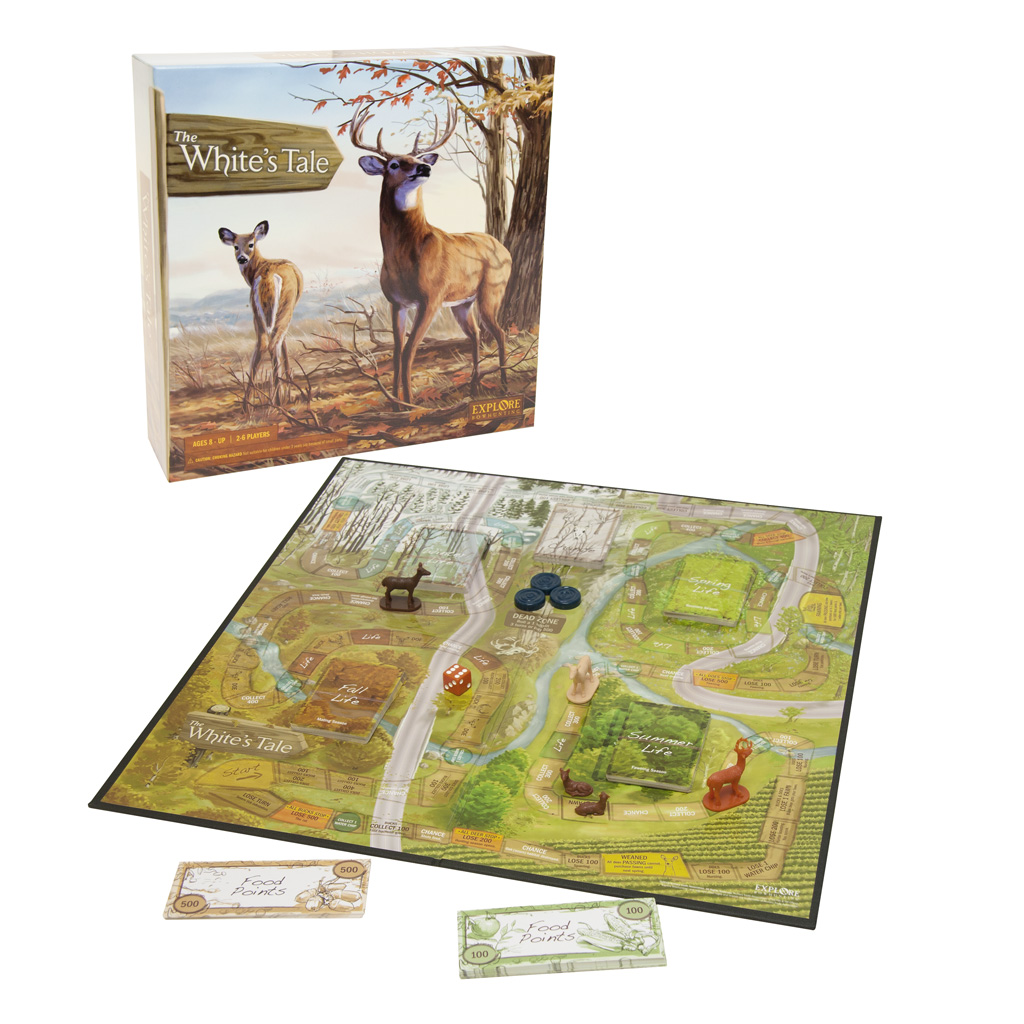ATA The Whites Tail Board Game  <br>